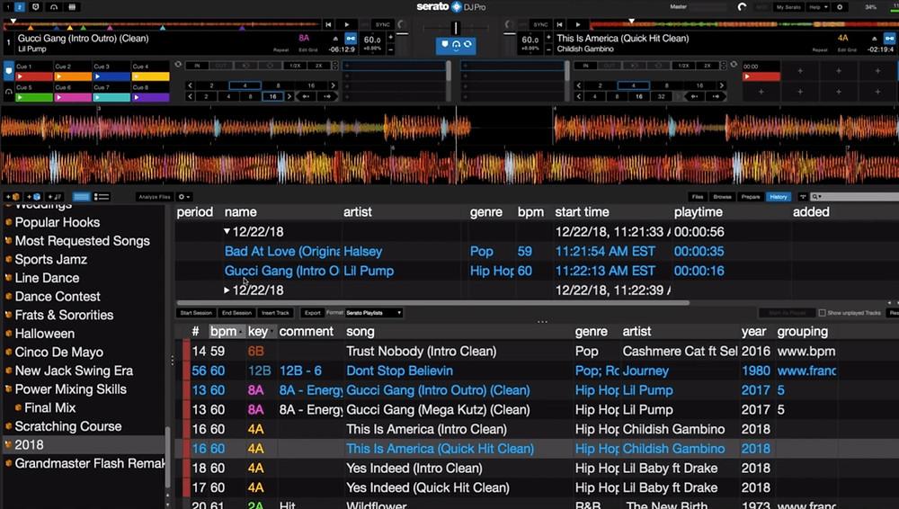 Serato Scratch Live Screen Shot
