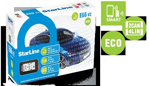 StarLine E66v2 BT ECO