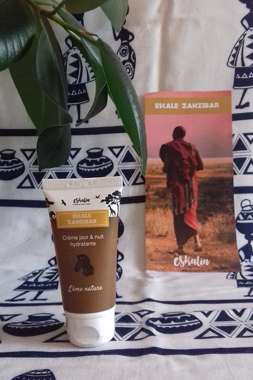 Eskalia - Crème Visage Jour & Nuit Hydratante  50ml Escale Zanzibar
