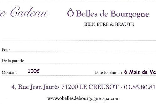 Chèque Cadeau Plaisir 100€
