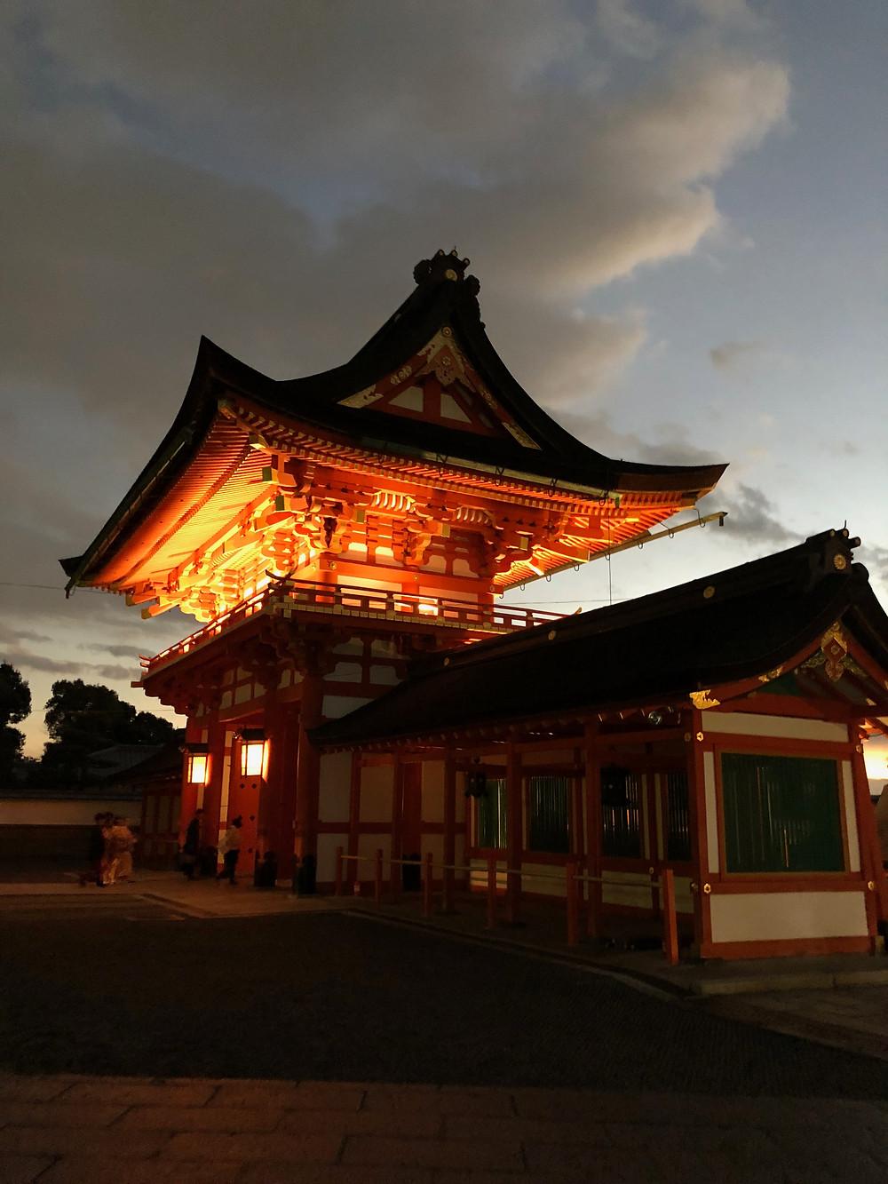 Fushimi Inari Shrine Kyoto Japan