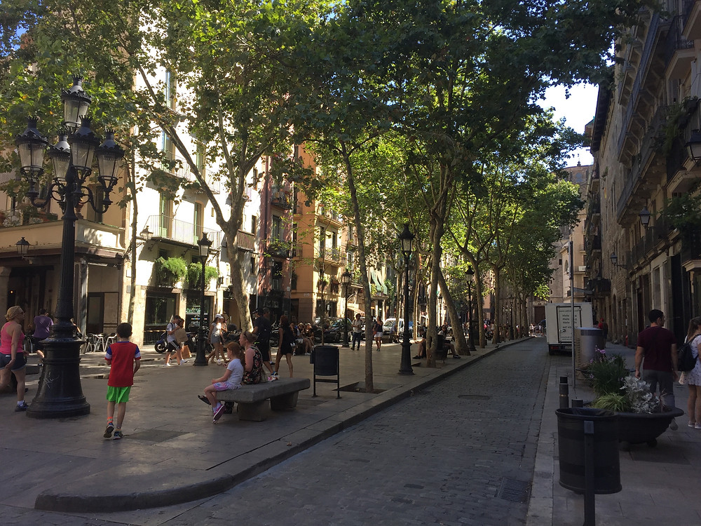 Streets of El Born, Barcelona