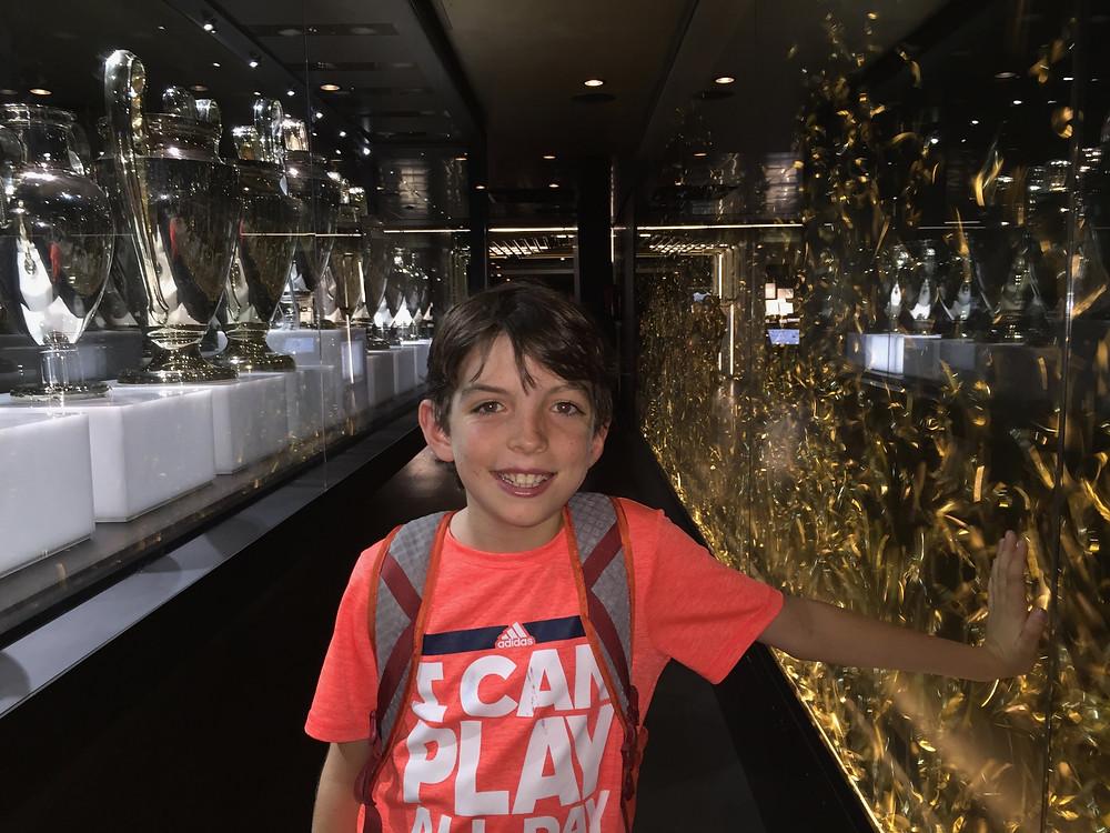 Bernabéu Stadium Tour Madrid Spain