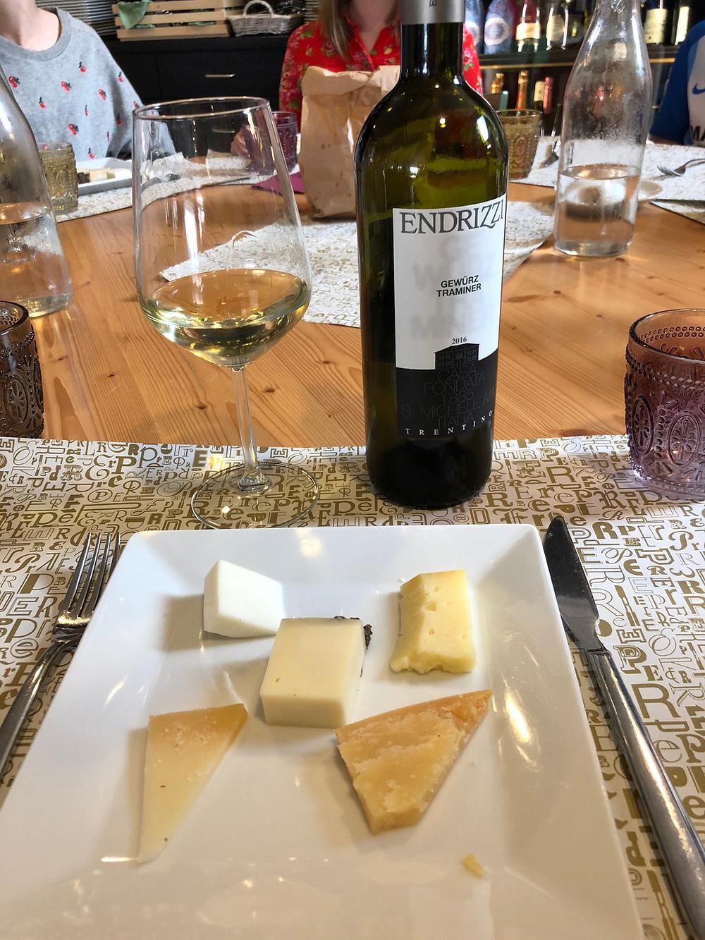 Cheese Tasting at PER