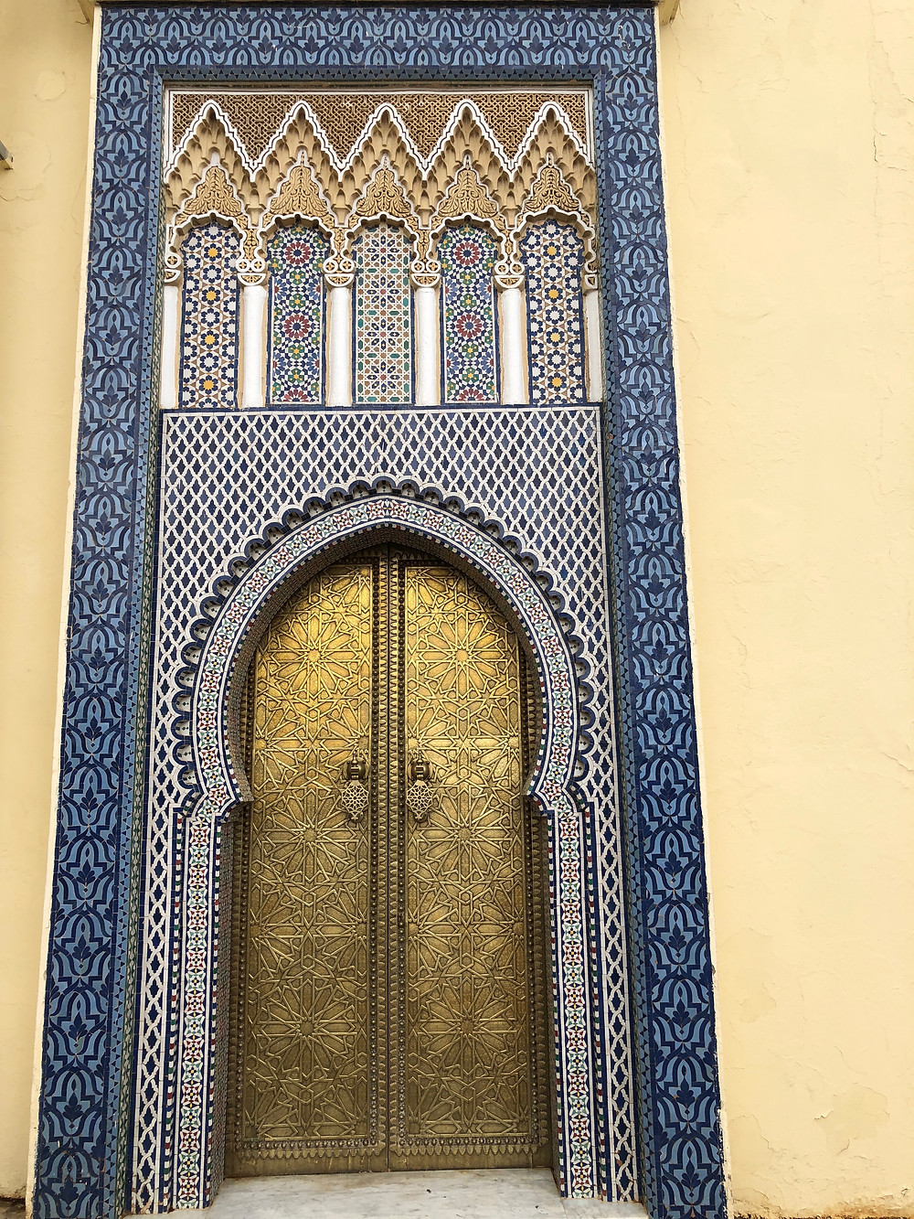 The Palace Gates in Fes