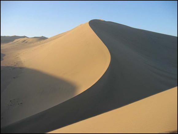Mingsha Shan Sand Dunes China