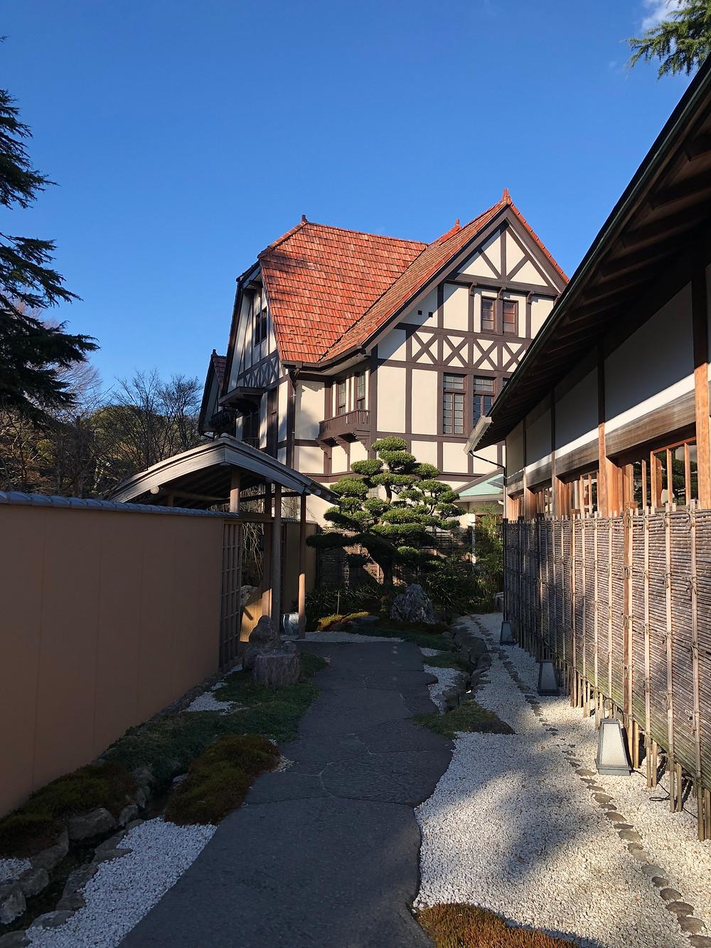 Outside of Gora Kadan in Hakone