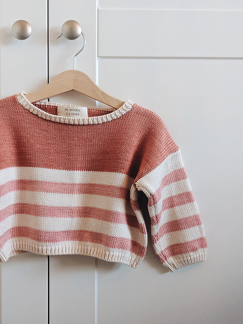 Pink Cotton Jumper