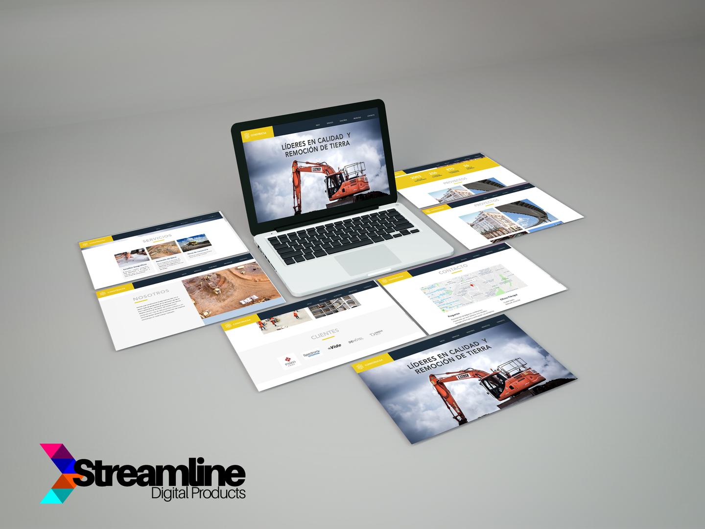 Página web Construcsa