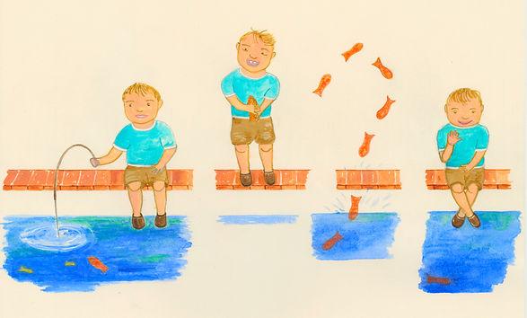 Boy Catching Fish.jpg
