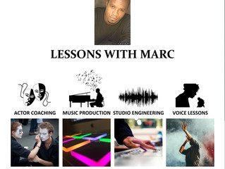 Acting, Music Production, Studio Engineering Lessons w/ Marc Antonio Pritchett -Virtual & Encino, CA