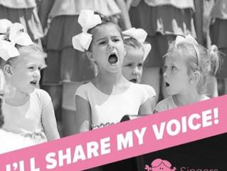 Singers Program: Building Girls' Confidence - Rancho Santa Margarita, CA