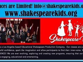 Shakespeare Kids:  Summer Camps & Classes - Greater Los Angeles Area, CA
