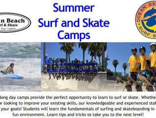 Ocean Experience Surf and Skate Summer Camps - San Diego, CA