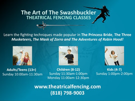 The Art of the Swashbuckler: Theatrical Fencing Classes - North Hollywood, CA