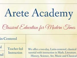 Arete Academy Classical Education - Palos Verdes, Pasadena, & Santa Clarita, CA