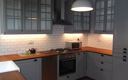 Entire fitted kitchen