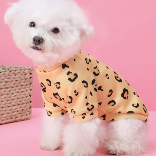 LEOPARD DOG SHIRT