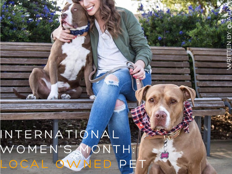 International Women's Month: Local Women Owned Pet Businesses