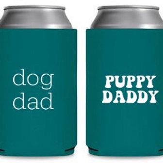 Dog Dad Koozie