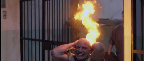 Louis on fire!