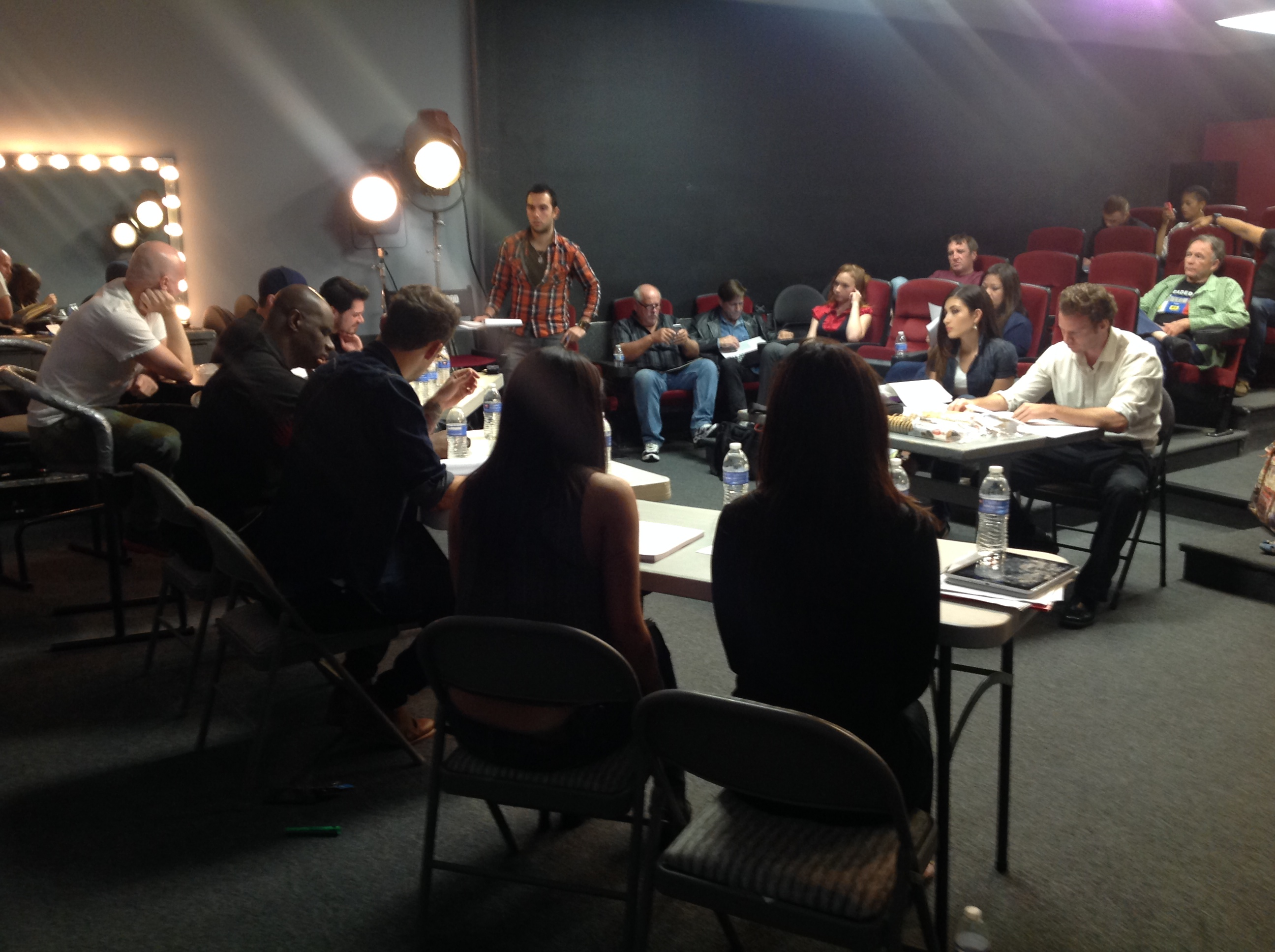 Night Walk's First Table Read