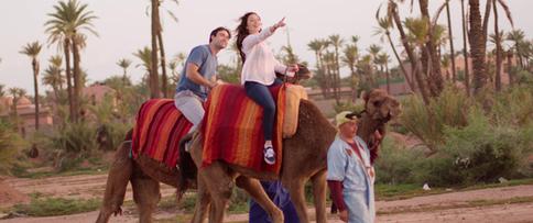 A camel ride.