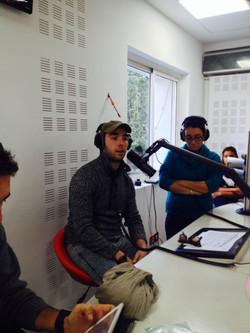 "Interview at ""Imad Fla Radio"""