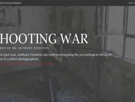Sold! Shooting War: The Perils of Conflict Photography (by Anthony Feinstein)