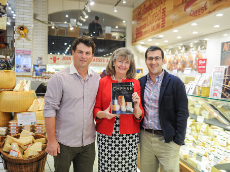 The Oxford Companion to Cheese launches at Murray's Cheese (fittingly!)