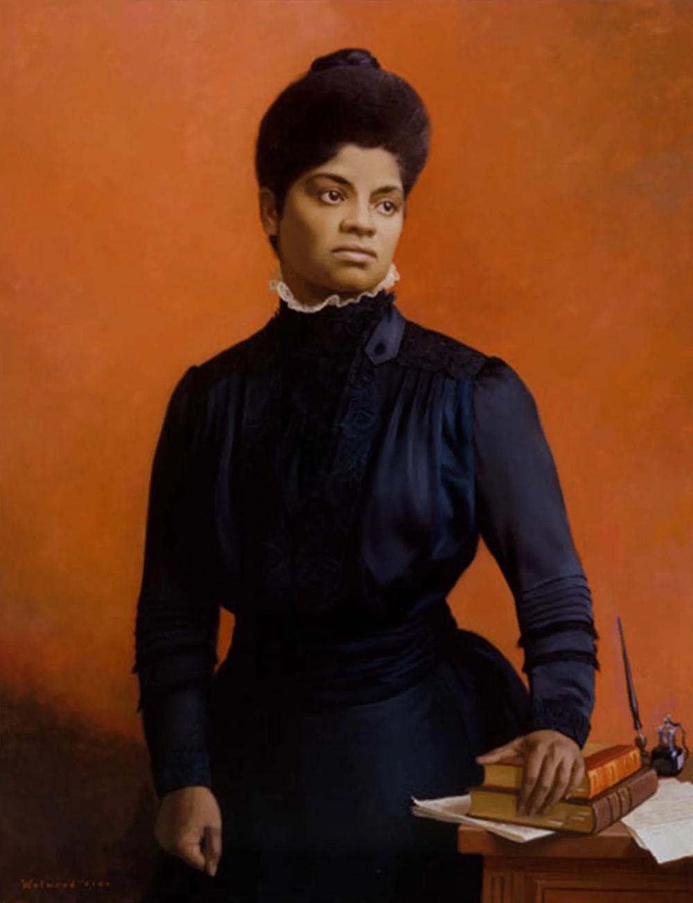 Portrait of Ida B. Wells-Barnett.