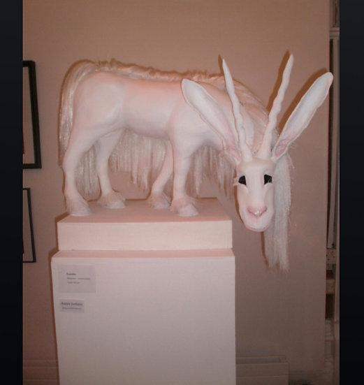 The Familiar sculpture