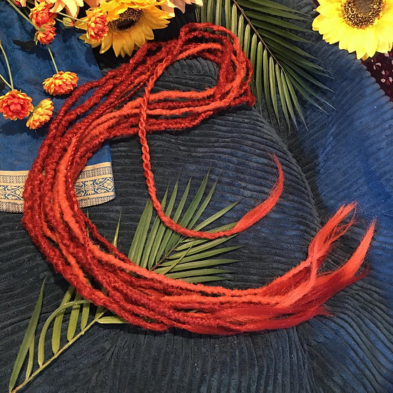 Red Fox Double Ended Dreads 180cm