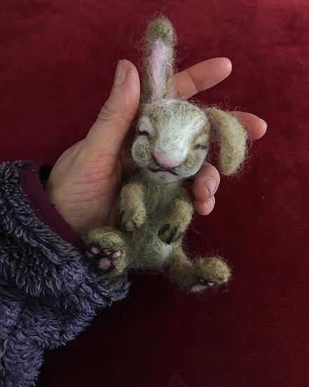 Felted Cruelty Free Bunny