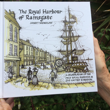 "Note 18/12/20: Hard back version currently out of stock.    ""Royal Harbour of Ramsgate""Book"