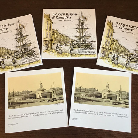"The Royal Harbour of Ramsgate"" Soft-back book by Janet Munslow is now available to purchase"