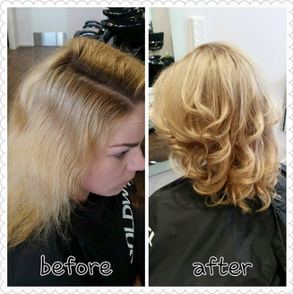 Illumina foils and toner before and afte