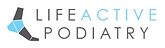 Logo of Life Active Podiatry, podiatrist in Bicton