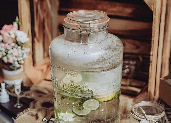 Getränkespender Glas