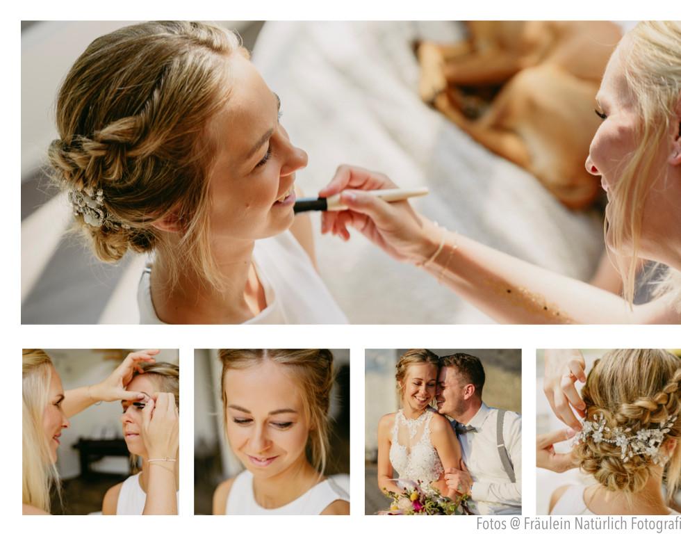 Perfekte Haare am Tag der Hochzeit