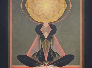 G. R. Santosh Untitled  Acrylic on canva