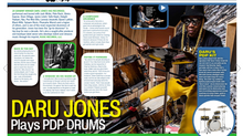 IN TUNE + MODERN DRUMMER MAGAZINE (Spread Feature)