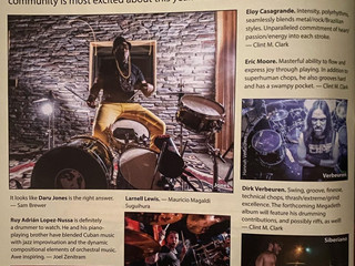 HIPPEST DRUMMERS + SETH MEYERS (Magazine)