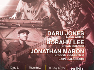 A NUBLU NIGHT WITH JONES x BORAHM LEE x JONATHAN MARON
