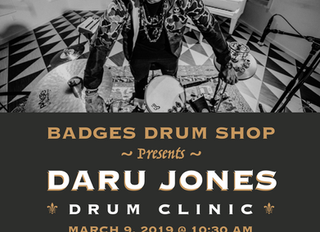 DARU IN CINCINNATI (Drum Clinic)