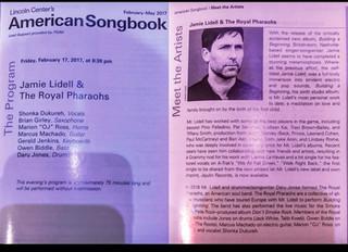 JAMIE LIDELL & TRP LIVE @ LINCOLN CENTER (Rewind)