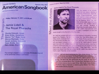 JAMIE LIDELL & TRP LIVE @ LINCOLN CENTER (Rewind)