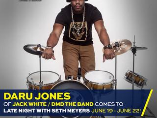 DJ ON SETH MEYERS (Upcoming)