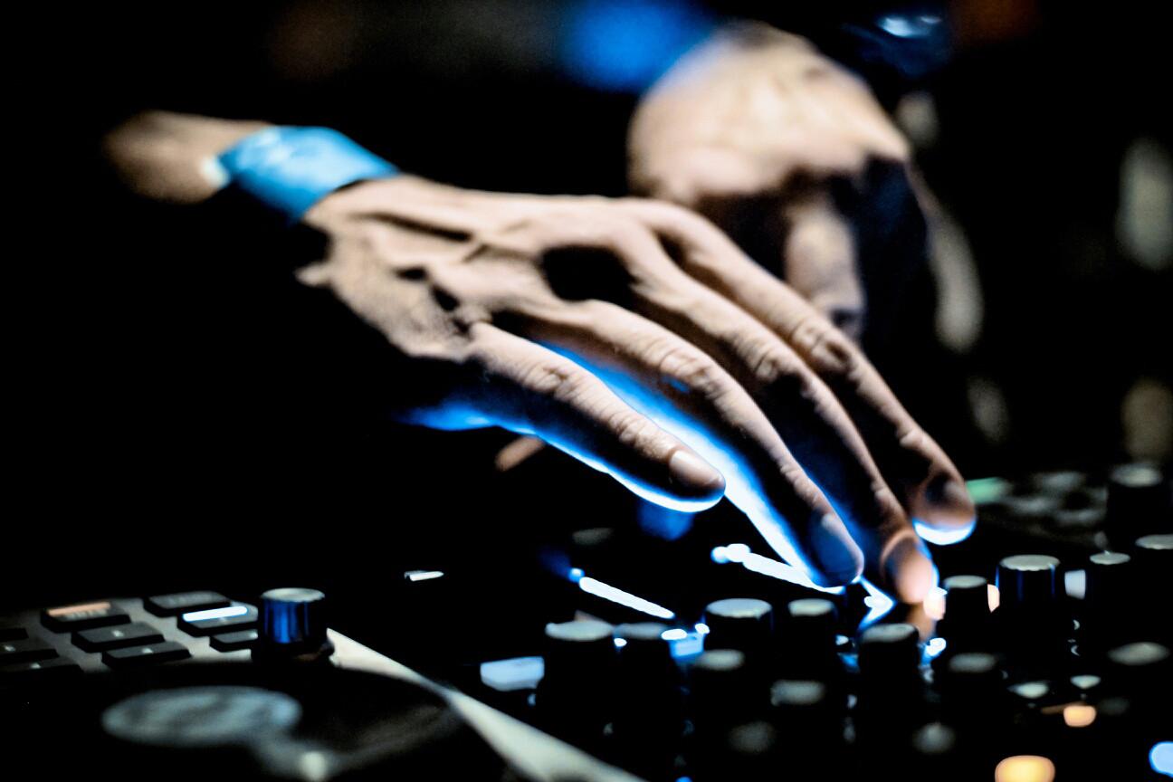 DJ in Aktion