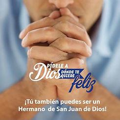 Desde esta Capilla Hospitalaria te invitamos a Orar por la Vida Consagrada